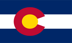 The state flag of Colorado | Colorado Medicare Insurance Plans