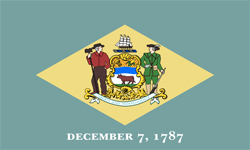 The state flag of Delaware | Delaware Medicare Insurance Plans