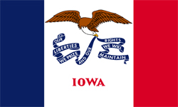 The state flag of Iowa | Iowa Medicare Insurance Plans