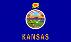 The state flag of Kansas | Kansas Medicare Insurance Plans