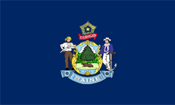 The state flag of Maine | Maine Medicare Insurance Plans
