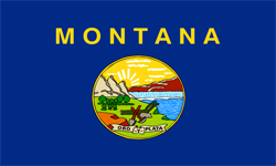 The state flag of Montana | Montana Medicare Insurance Plans