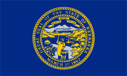 The state flag of Nebraska | Nebraska Medicare Insurance Plans