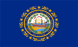 The state flag of New Hampshire | New Hampshire Medicare Insurance