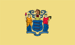 The state flag of New Jersey | New Jersey Medicare Insurance Plans