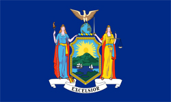 The state flag of New York | New York Medicare Insurance Plans