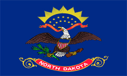 The state flag of North Dakota | North Dakota Medicare Insurance Plans