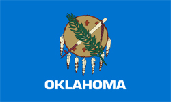 The state flag of Oklahoma | Oklahoma Medicare Insurance Plans