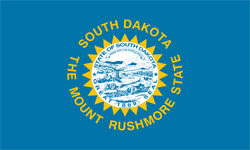 The state flag of South Dakota | South Dakota Medicare Insurance Plans