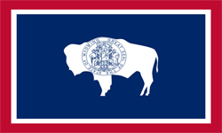 The state flag of Wyoming | Wyoming Medicare Insurance Plans
