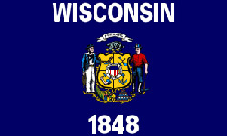 The state flag of Wisconsin | Wisconsin Medicare Insurance Plans